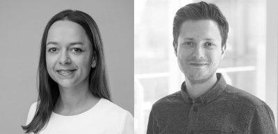 Müssen Kommunikationsverantwortliche kreativ sein? Ja, sagen Judith Klose und Nick Marten. (c) Michel Buchmann; privat