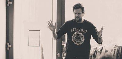 Martin Fuchs sieht noch viel Potenzial beim Online-Wahlkampf. / Martin Fuchs: (c) Valentin Schalck