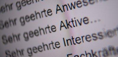 Wie schließt Sprache alle ein? (c) Picture alliance/dpa/Sebastian Gollnow