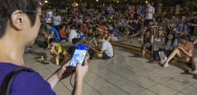 Pokemon Go in Hong Kong; Lee Yiu Tung