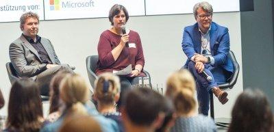 Stefan Rojacher, Hilkka Zebothsen, Dirk Popp  (c) Laurin Schmid