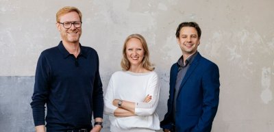Nico Ziegler, Annika Schach und Timo Lommatzsch (v.l.n.r.) haben die Agentur Segmenta Futurist:a gegründet. (c) Segmenta Futurist:a