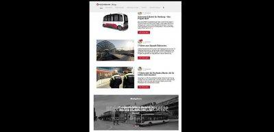 """Ausgezeichnet in der Kategorie """"Blog"""": der Corporate Blog der Hamburger Hochbahn. (c) Screenshot"""