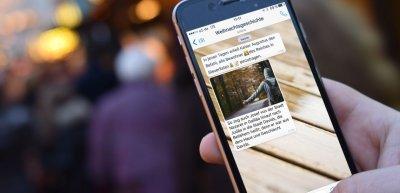 Das Bistum Essen erzählte die Weihnachtsgeschichte auf Whatsapp (c) Bistum Essen