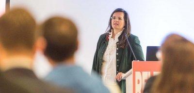 Gabriela Straka auf dem Kommunikationskongress 2017 (c) Laurin Schmid