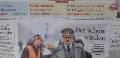 """Der """"Tagesspiegel""""-Redaktion hätte sich vor Druck ihren Aufmacher besser noch einmal genauer angeschaut (c) Privat"""