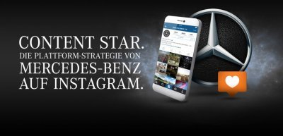 Content Star – Die Plattform-Strategie von Mercedes-Benz auf Instagram (c) Mercedes-Benz