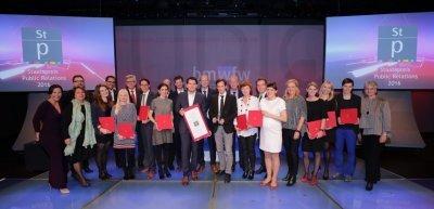 Die Gewinner (c) PRVA/APA-Fotoservice/Hinterramskogler