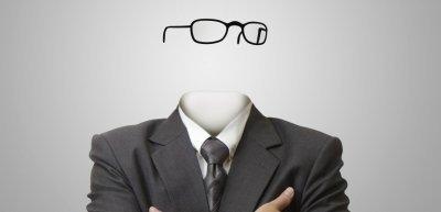 Der unsichtbare Mann im Business (c) Getty Images/iStockphoto/buchachon