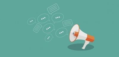 Die Rede - eines der ältesten Instrumente der Kommunikation - öffnet sich für den digitalen Austausch. (c) Thinkstock/yganko