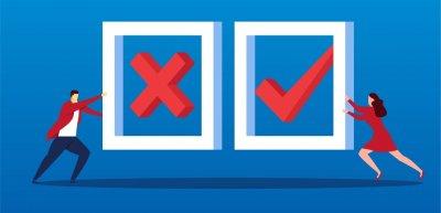 Wie können sich Pressestellen vor manipulierten Umfragen schützen? (c) Thinkstock/z_wei