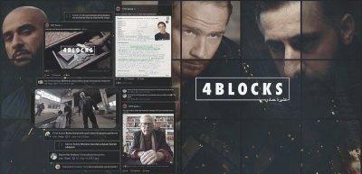 """Die Serie """"4 Blocks"""" wurde mit einer umfangreichen Online-Kampagne beworben. (c) Grabow & Bartetzko"""