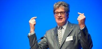 Roger Willemsen auf dem Kommunikationskongress, (c) Laurin Schmid