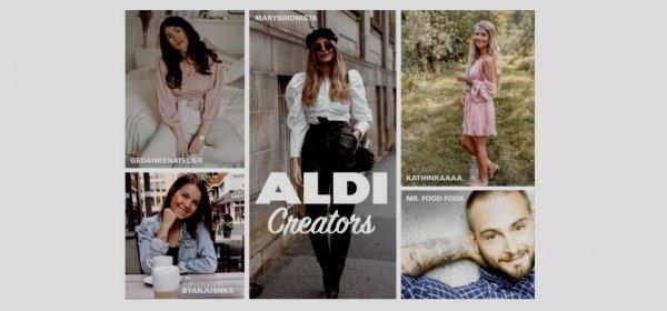 Aldi Nord startet eine Kooperation mit Influencern. (c) Aldi Nord