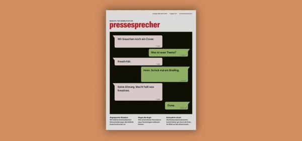 Ausgabe 21/2021: Kreativität (c) Quadriga Media Berlin