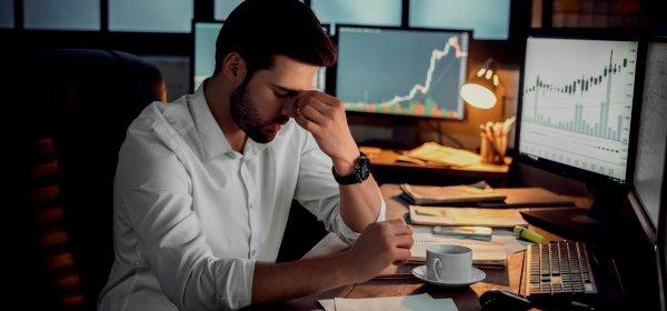 Viele Firmen plagen in Corona-Zeiten Ängste. / Symbolbild Angst: (c) Getty Images/Victoria Gnatiuk