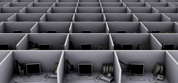 Stress statt Kreativität: Großraumbüros sind schlechter als ihr Ruf. (c) Getty Images/VasilyevD