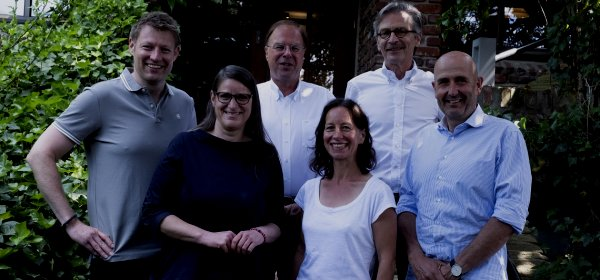 Neues Präsidium: Matthias Wesselmann, Jelena Mirkovic, Peter Heinrich, Alexandra Groß, Uwe Kohrs und Hanning Kempe. (c) GPRA