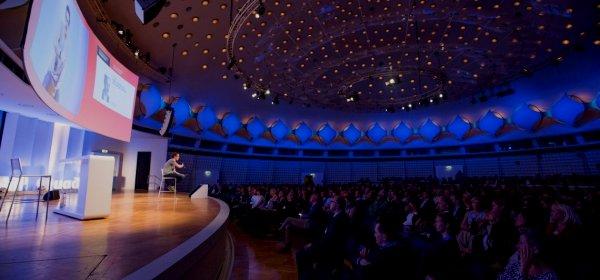 Während der Keynote von Ben Hammersley. (c) Jana Legler