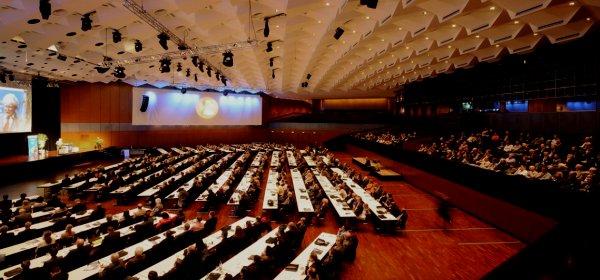 Volkswagen verlangt wegen des AfD-Parteitages die zeitweise Umbenennung des Veranstaltungsortes in Braunschweig. (c) Stadthalle Braunschweig Betriebsgesellschaft mbH