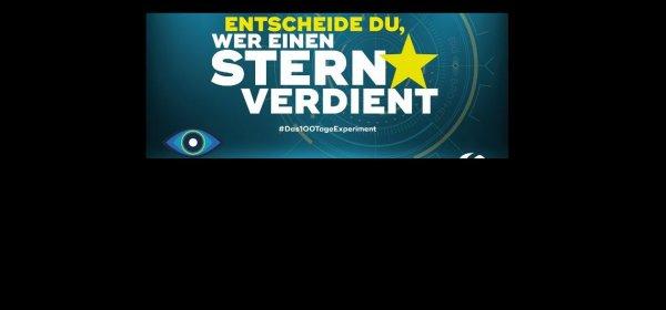 """Bei """"Big Brother"""" auf Sat 1 sollen gelbe Sterne den """"Wert"""" der Teilnehmer bestimmen. (c) Sat.1"""