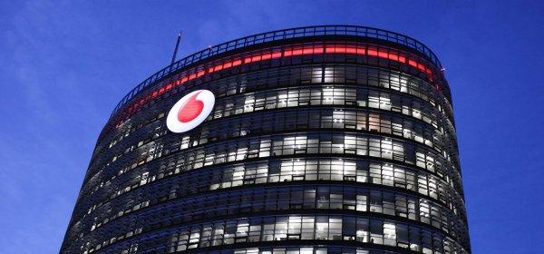 Das Ende der 5G-Versteigerung feierte Vodafone mit einer PR-Aktion. (c) Getty Images / Dejvice6
