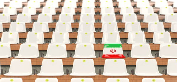 Iranische Frauen durften letzte Woche erstmals seit fast 40 Jahren ein Fußballspiel besuchen. (c) Getty Images / MikhailMishchenko