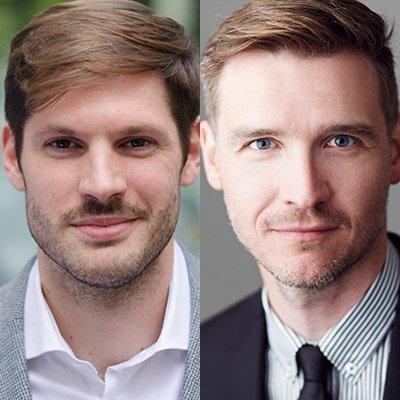 Nils Droste und Fabian Leber (c) (1) Caitlon Hardee (2) Lisa Merk