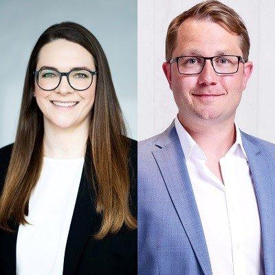 Alicia Leuchs (l.) und Christian Grope (r.) (c) Morphosys