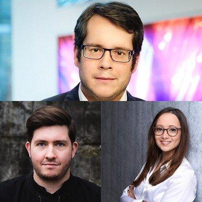 Kai Klicker-Brunner (Bild oben), Sascha Urlau (u.l.), Adriana Cerami (u.r.) (c) Pepsico Deutschland