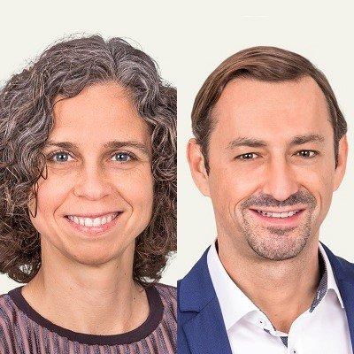 Dorothee Tschampa, Mirko Kraus (c) Software AG/Quadriga Media
